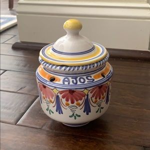 AJOS ceramic rice cooker container made in Spain